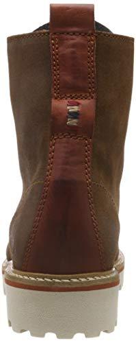 Stivaletti cognac Marrone Hilda Biker N45 Napapijri Donna Footwear UfZEqUpg