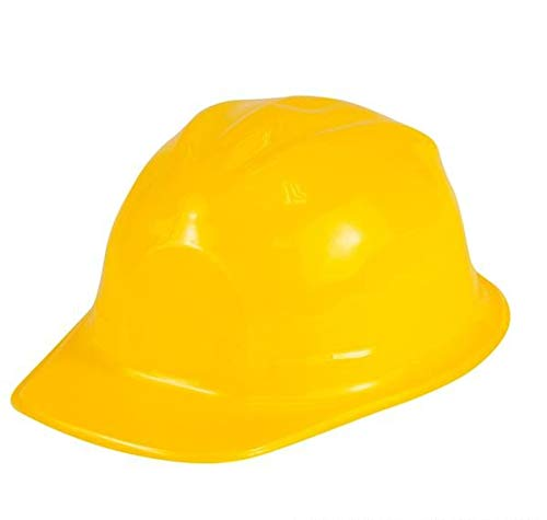Rhode Island Novelty Children's Dress Up Soft Plastic Construction Hard Hats | Set of 12 | -