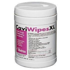 Metrex 13-1150 CaviWipes Disinfecting Towelettes, X-Large (Pack of 12) by Metrex