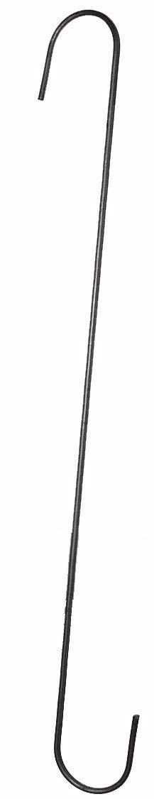 S Hooks, 18 inches TL, 2 Dozen (24)