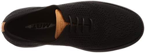 de M Brogue Cordones WT MBT para W Negro Boston Mujer Zapatos Knit YCgnBwq