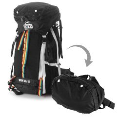 8aa199f092f2 Amazon | CHUMS ザックパック 登山リュック[スプリングデール][Spring Dale 35 II] CH60-0674 1.ブラック  | CHUMS(チャムス) | Amazon Fashion