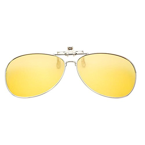 on up New Clip Polarisé Flip Resin Frame Lentilles soleil de Yellow Lunettes Metal Meijunter Lunettes UV400 8UxPFHwqq