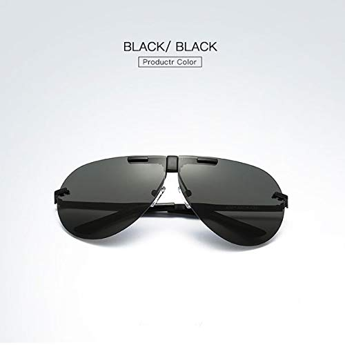 Gabcus - Unisex UV400 Falten Polarisierte Klipp auf Sonnenbrille Brille Polaroid Linse Glasses - (Color: #1) (Polarisierte Reading Sonnenbrille)