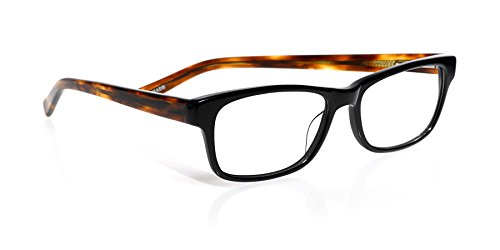 eyebobs Bob Frapples, Black and Tortoise, Rectangular Reading Glasses SUPERIOR QUALITY- The best $79 you will ever spend
