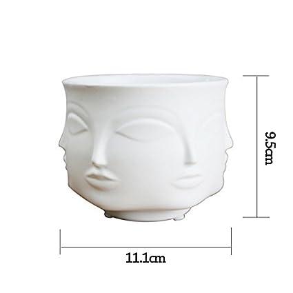 Amazon Ladies Face Head Planter Vase Face Vase For Flower Human