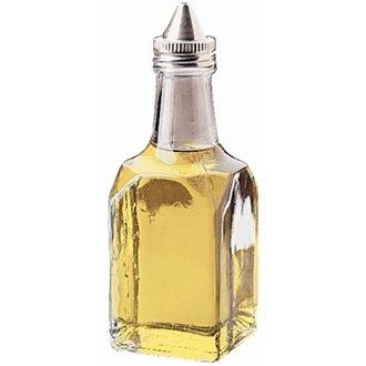 WIN-WARE 1 x Clear Oil / Vinegar Cruet Jar , Bottle , Dispenser for use with cruet rack or table organiser.
