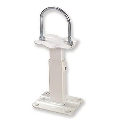 sostegni para radiadores, moquetas blancos pies ajustables para radiador de hierro fundido Altura mm.