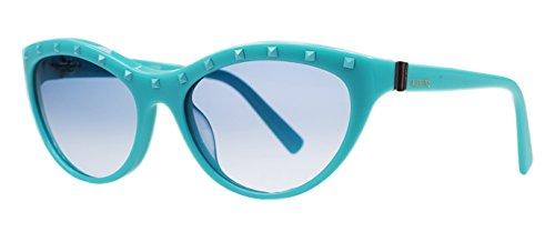 Valentino V 641/S 440 Turquoise Cateye - Valentino Cat The