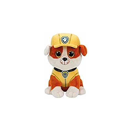 0a5730955ff Amazon.com  Ty-PAW Patrol-Rubble 15 C M  Toys   Games