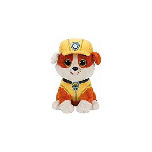 Dog Beanie Plush (TY Paw Patrol RUBBLE - bulldog reg Plush)