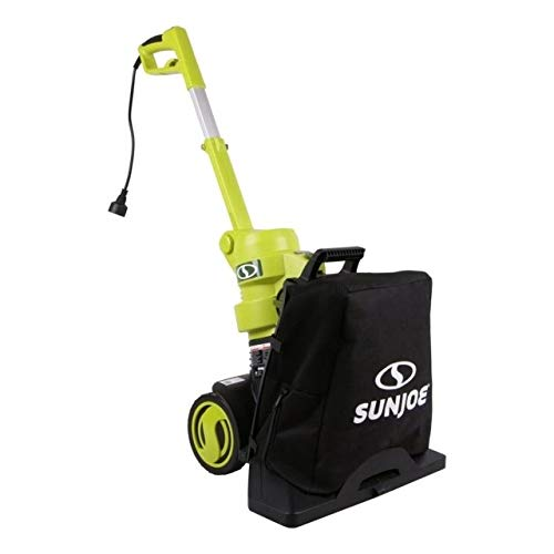 Sun Joe SBJ802E 13.5-Amp Max 165 MPH 3-in-1 Electric Blower/Vacuum/Mulcher, Green ()