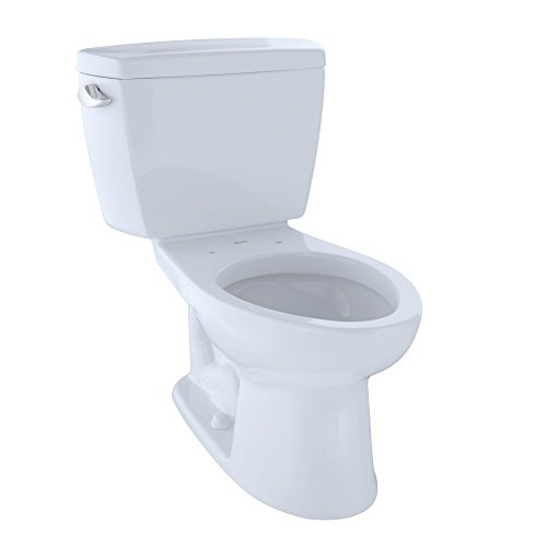(Toto CST744SF.10#01 CST744SF.10No.01 Drake Two-Piece Toilet, 1.6-GPF Cotton)