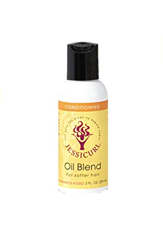 - Jessicurl Oil Blend for Softer Hair, Citrus Fragrance Free, 2 Fluid Ounce