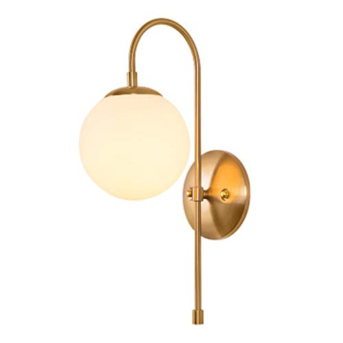 (Modern Minimalist Design Nordic Style Wall Lamp, Wrought Iron Led Personality Room Beautiful Decorative Lamp, Bedroom Bedside Reading Lighting )
