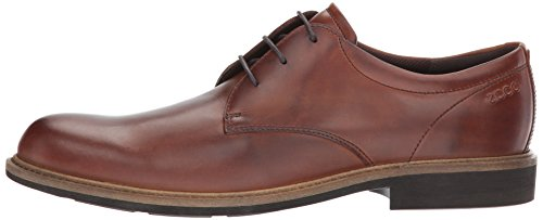 ECCO Men's Findlay Plain Toe Tie Oxford, Cognac, 42 EU / 8-8.5 US by ECCO (Image #5)