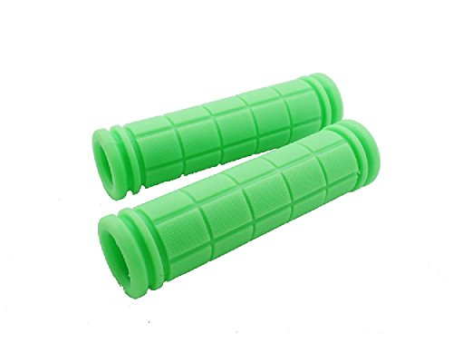 (yueton Urban-Style Fixed Gear Handlebar Grips MTB Bike Bicycle Rubber Grips (Green) )