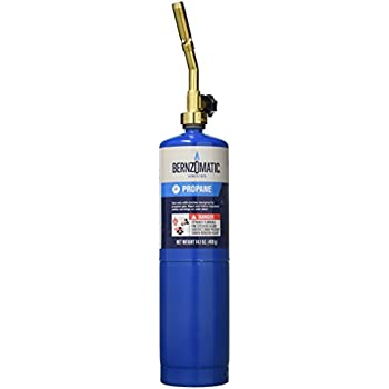 WORTHINGTON CYLINDER 312321 14 1 oz Propane Torch Kit Carton