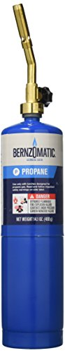 WORTHINGTON CYLINDER 312321 14.1 oz Propane Torch Kit Carton