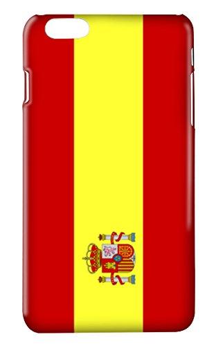 Funda carcasa bandera España para Huawei G8 GX8 plástico rígido