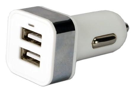 Amazon.com: QVS USBCC-2PS 2Port 3.1 Amp USB Cargador de ...