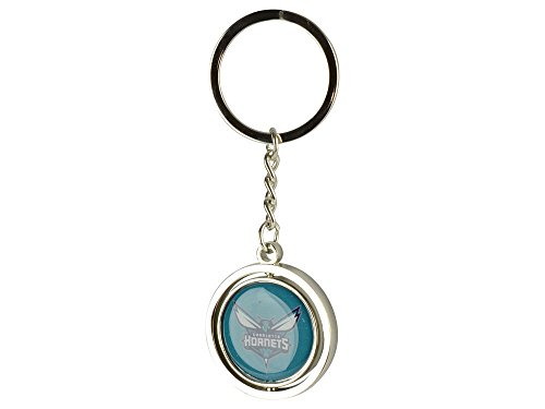 aminco NCAA Charlotte Hornets NBA-SK-741-33 Spinning Keychain, One Size, Multicolor by aminco