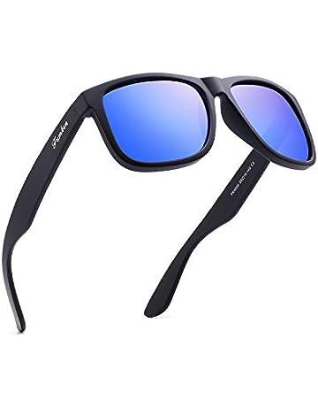 ea2509f784 Mens Polarized Sunglasses Black Sunglasses Womens UV Protection Ultra Light