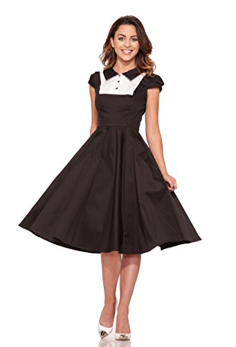 Hearts & Roses Women's Tuxedo Dress (8)
