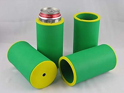 Schwarz 5er Set Getränkekühler 0,5L DOSE Bierkühler Neoprenkühler passgenau