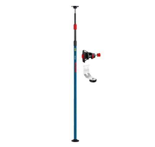 8' C-clamp (Bosch BP350 Telescoping Pole with 1/4-Inch by 20-Inch laser Mount)