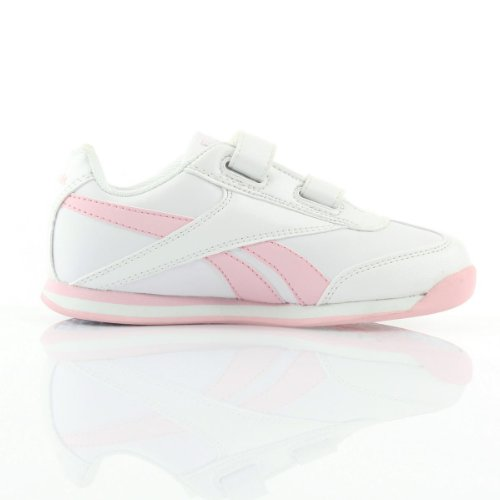 REEBOK J82142 HOPORAMA weißen Babyschuhe Gymnastik Tücken Weiß