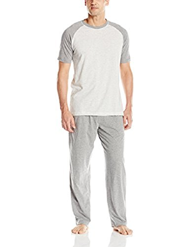 Hanes Men's 2XL Short Sleeve Knit Pajamas with X-Temp for sale