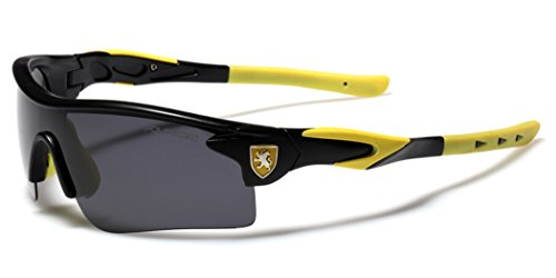 Premium Polarized Men's Sports Cycling Fishing Baseball Running Sunglasses - Black & - Yellow And Black Sunglasses