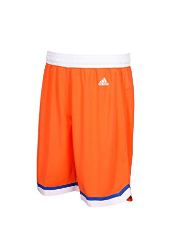 adidas Cleveland Cavaliers Youth Hardwood Classics Swingman Orange Shorts Boys 8-20 (Youth Small 8)
