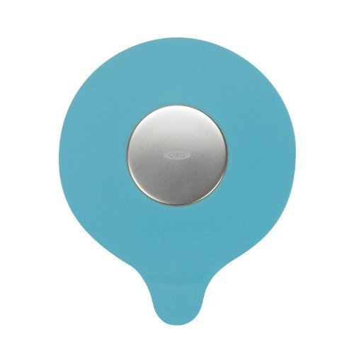 OXO Tot Silicone Tub Drain Stopper - Aqua (Set of 2) by OXO