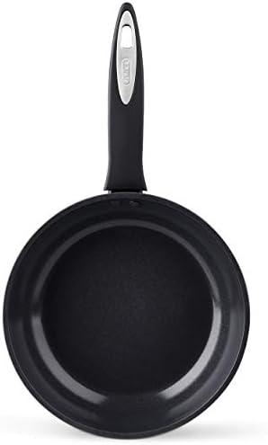 Zyliss E980146 Poêle à frire avec revêtement antiadhésif céramique Zyliss Cook, Aluminium, Noir, 20 cm