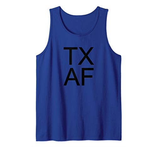 (TX AF Texas All the Way Texas Tank Top)