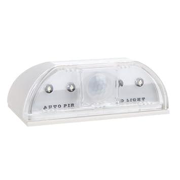 Andoer 4 LED lámpara de activado y desactivado del modo Sensor de movimiento Detector Sensor de