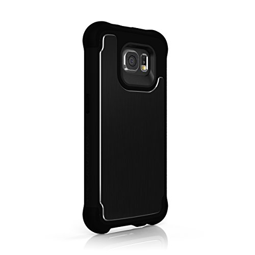 (Galaxy S6 Case, Ballistic [Tungsten Tough Series] Ultra Protective 7 Ft.Drop Test Certified Protective Case for Samsung Galaxy S6 Brushed Black Back Plate)