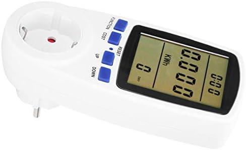 Elektriciteitsverbruiksmonitor overbelastingsbeveiliging Elektrische meteraansluitingen 05 W groot scherm digitaal voor thuis voor elektriciteitsmonitor1
