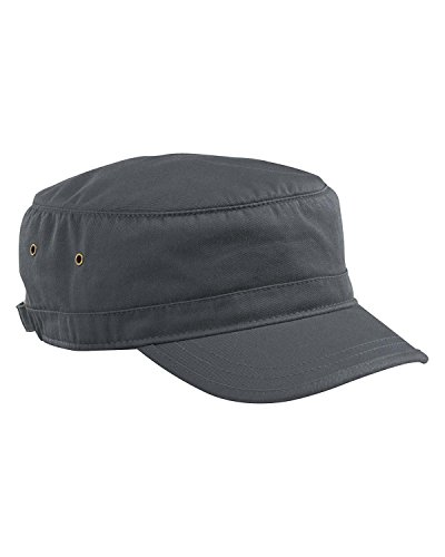 (Econscious - Organic Cotton Corps Hat - 7010 - Adjustable - Charcoal)
