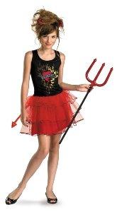 Tween Devil Girl Costume (Born Bad X-Large 14-16 Costume)
