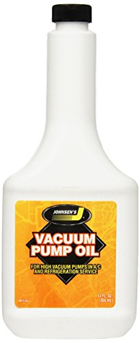 Johnsen's 6915 Vacuum Pump Oil - 12 oz. Vacuum Pump Supply