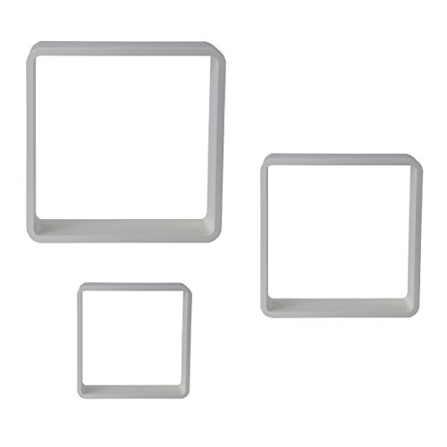 (Studio Nova High Gloss Cubes (Set of 3), White)