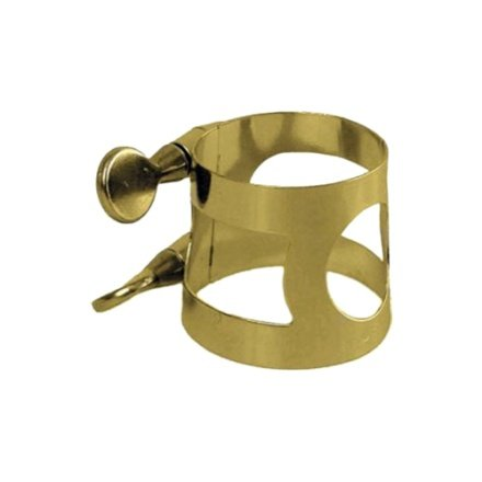 Gold Plated in Brass APM Soprano Saxophone Ligature APM3313G