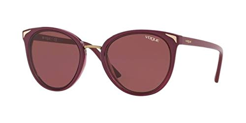 Ray-Ban 0VO5230S Gafas de sol, Top Dark Red Transparente, 54 ...