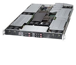 Supermicro SuperServer 1027GR-TQFT Barebone System - 1U Rack-mountable - Intel C602 Chipset - Socket R LGA-2011 - 2 x Processor SYS-1027GR-TQFT