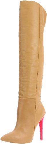 L.A.M.B. Women's Hylda Boot,Tan,6.5 M US