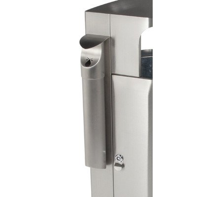 Leafview Stainless Steel Cigarette Receptacle