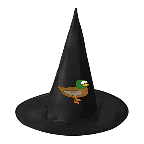 Halloween Funniest Costumes Pictures (Halloween Witch Hat Caps Decorations Baby Duck Adult Womens Black Witch Hat For Halloween Christmas Party Costume)